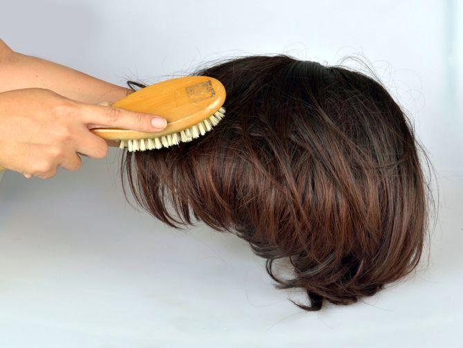 Как подстричь шиньон в домашних условиях